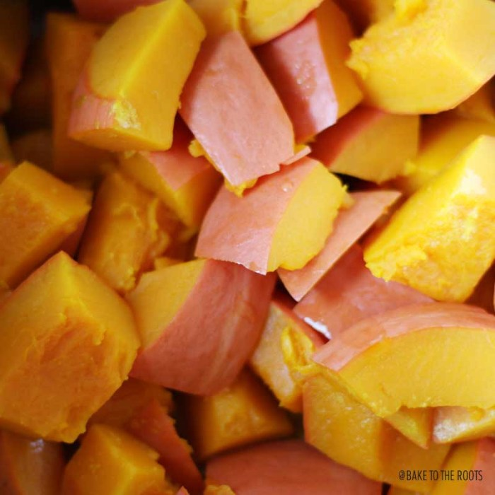 Pumpkin Puree   Bake to the roots