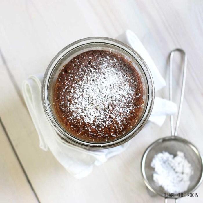 Kardamom Karotten Kuchen im Glas | Bake to the roots