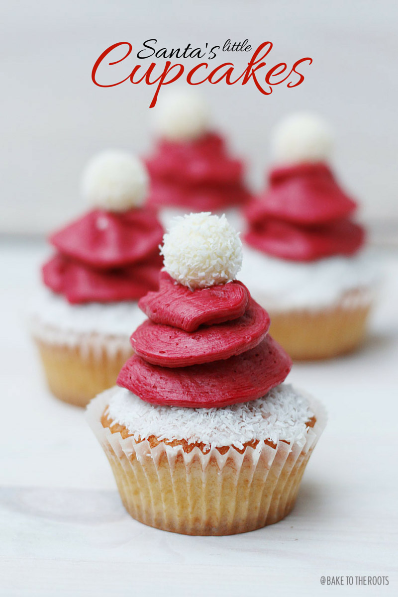 santa s little cupcakes bake to the roots. Black Bedroom Furniture Sets. Home Design Ideas