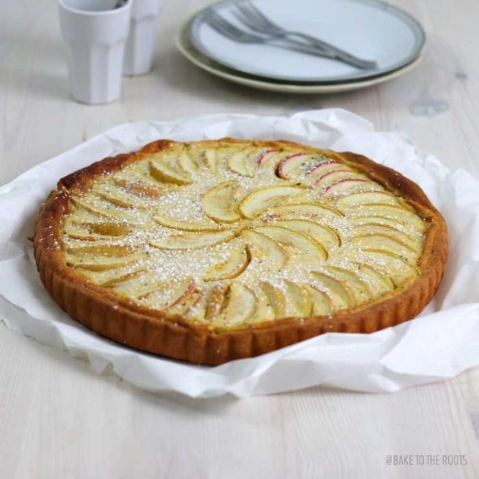 Apfel Mohn Hefekuchen | Bake to the roots