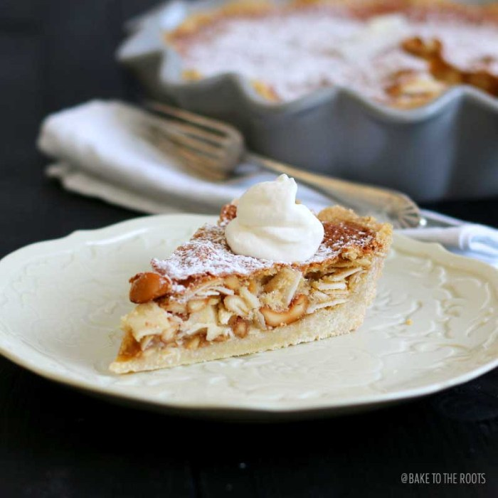 Maple Bourbon Nut Pie | Bake to the roots
