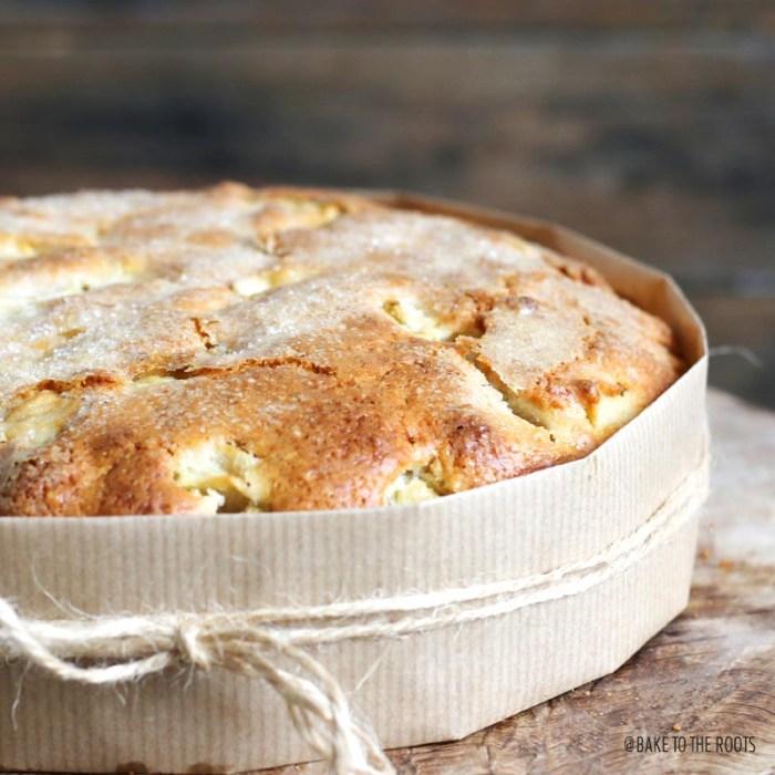 Irish Apple Cake | Bake to the roots