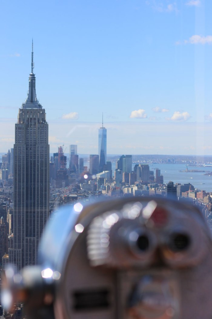 """New York View vom """"Top of the Rock"""""""