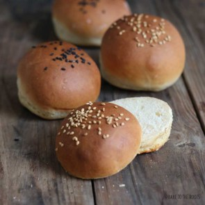 Easy Burger Buns | Bake to the roots