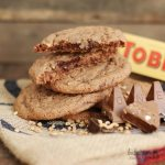 Toblerone Chocolate Cookies | Bake to the roots
