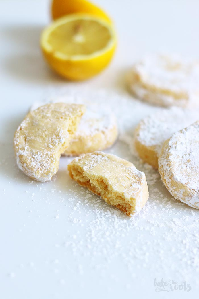 Lemon Meltaway Cookies | Bake to the roots