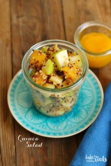Easy Quinoa Salad   Bake to the roots