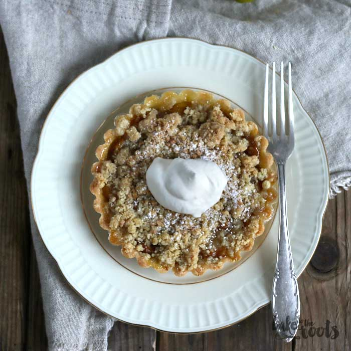Mirabelle Plum Streusel Tartletts | Bake to the roots