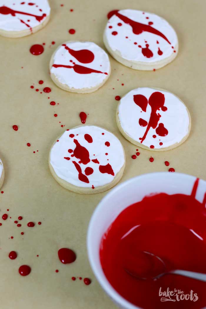 "Halloween Cookies ""Bloody Mess"" 