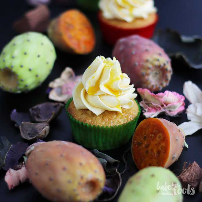 Prickly Pear Cupcakes | Bake to the roots