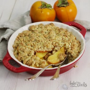 Japanese Persimmon Cobbler | Bake to the roots