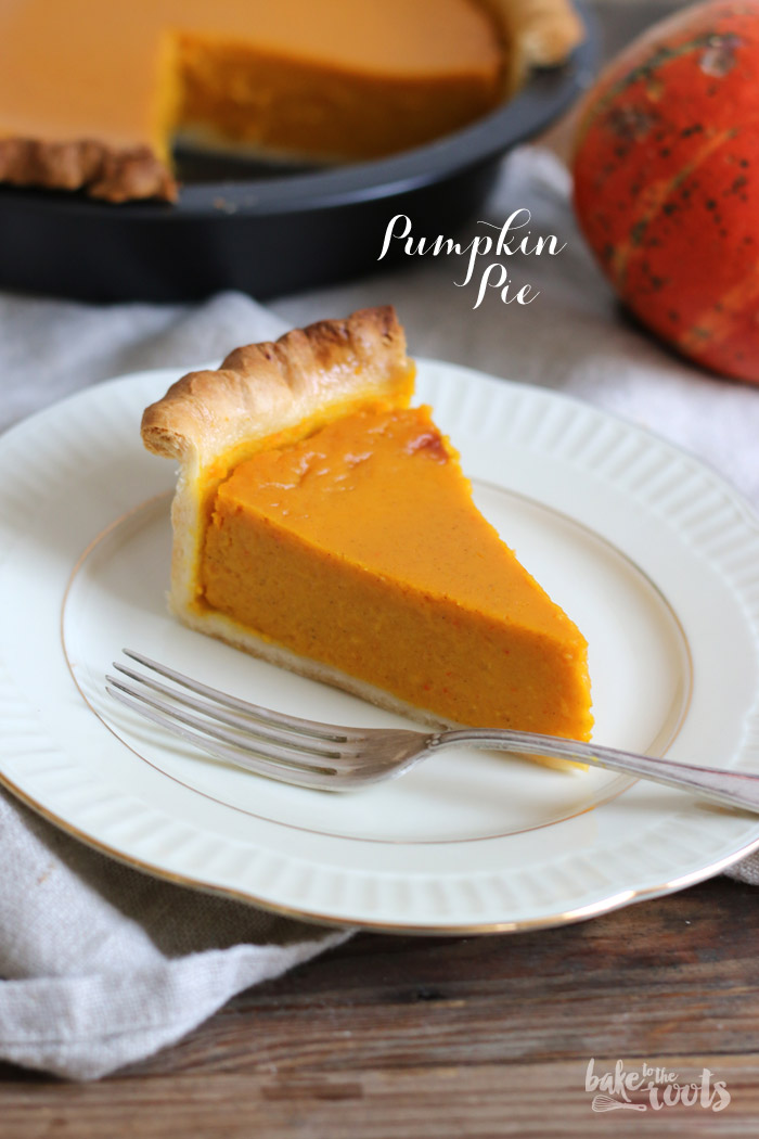 Pumpkin Pie | Bake to the roots
