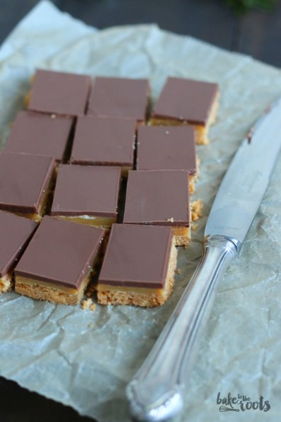 Millionaires Shortbread   Bake to the roots