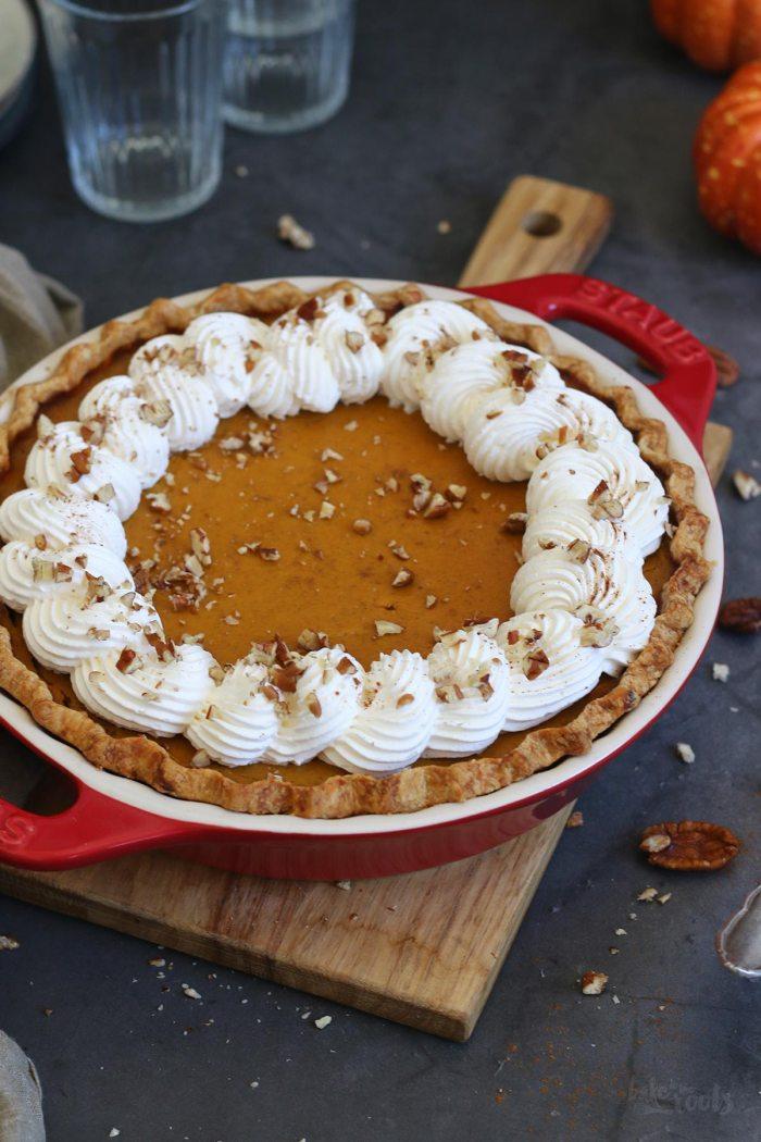 Klassischer Pumpkin Pie   Bake to the roots