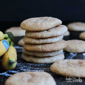 Banana Snickerdoodles | Bake to the roots