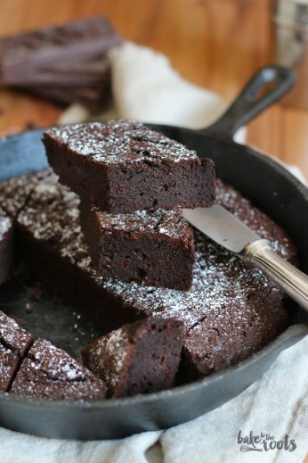 Double Chocolate Brownies   Bake to the roots