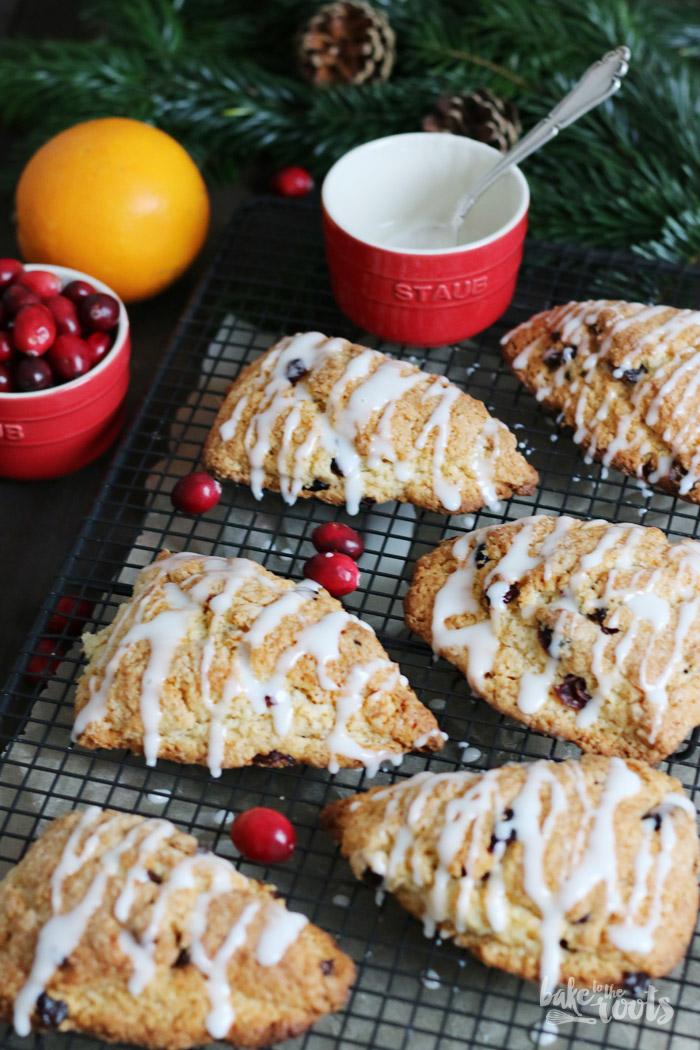Cranberry Orange Scones   Bake to the roots