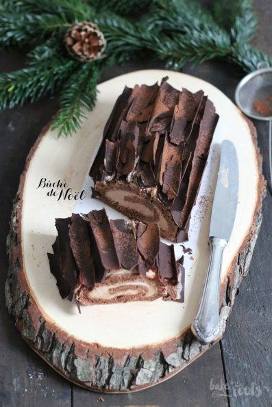 Bûche de Noël | Bake to the roots