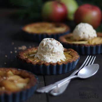 Cardamom Apple Tartlets | Bake to the roots