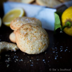 """Lemon Coconut Cookies   Cookie Friday with """"Sia's Soulfood"""""""