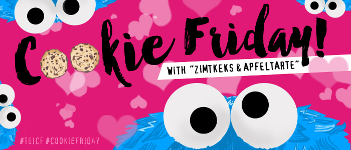 "Cookie Friday with ""Zimtkeks & Apfeltarte"""
