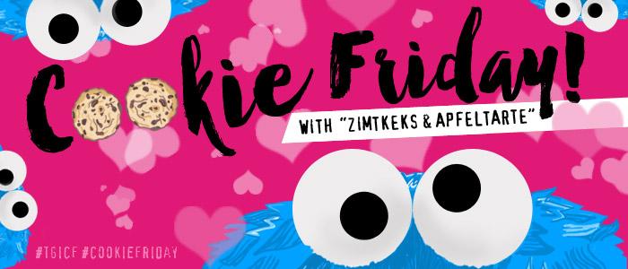 """Cookie Friday with """"Zimtkeks & Apfeltarte"""""""