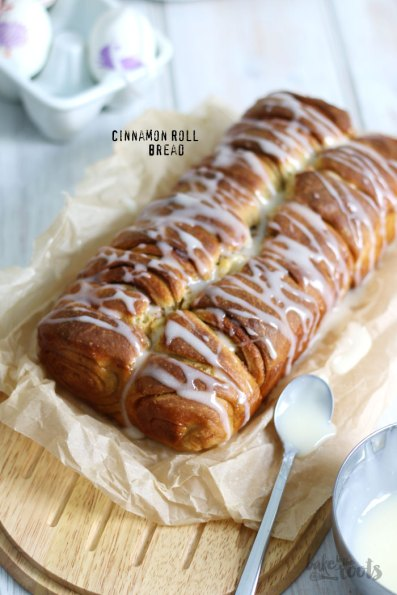 Cinnamon Roll Bread | Bake to the roots