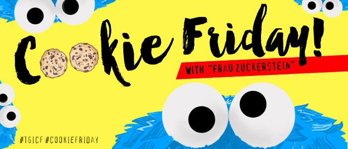 """Cookie Friday with """"Frau Zuckerstein"""""""