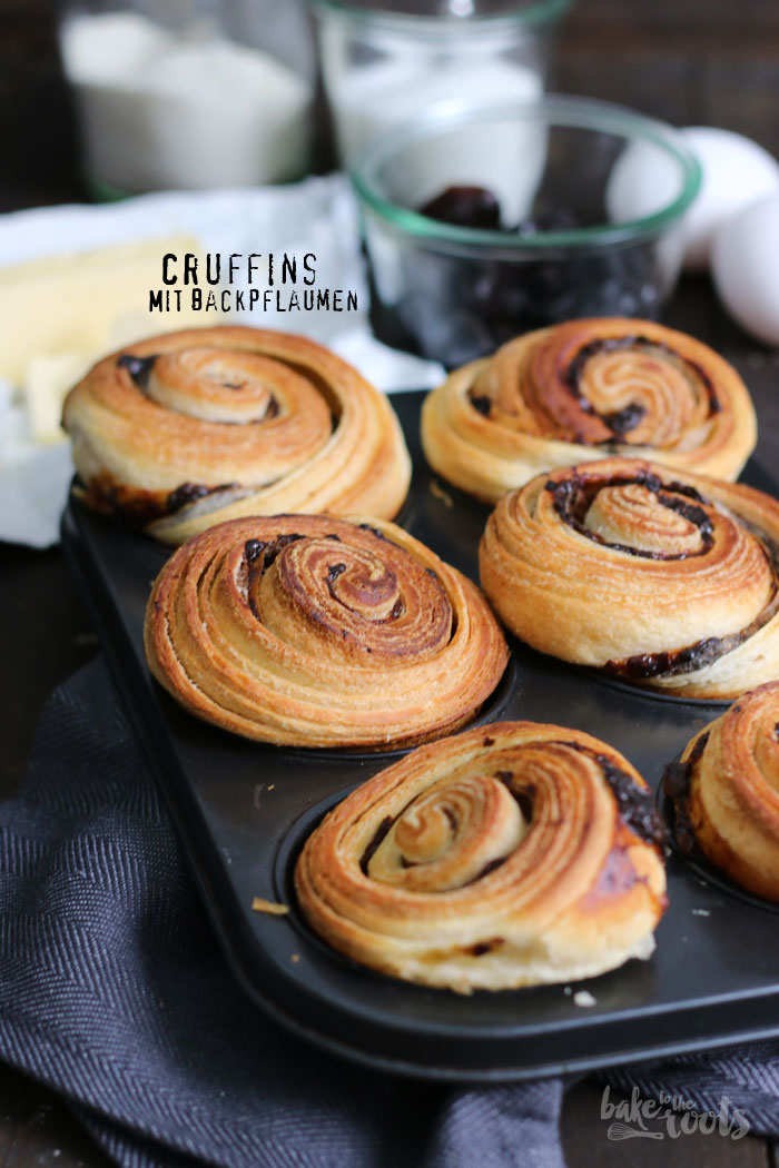 Cruffins with Prunes | Bake to the roots