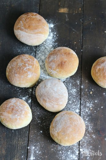 Easy Potato Bread Rolls   Bake to the roots
