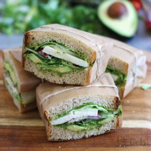 Green Sandwiches   Bake to the roots
