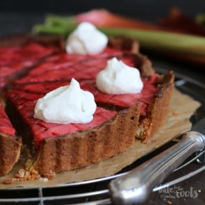 Rhubarb Frangipane | Bake to the roots