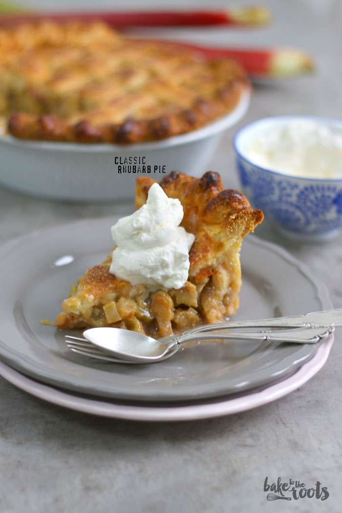 Classic Rhubarb Pie | Bake to the roots