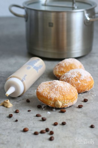 Berliner with Coffee Cream | Bake to the roots