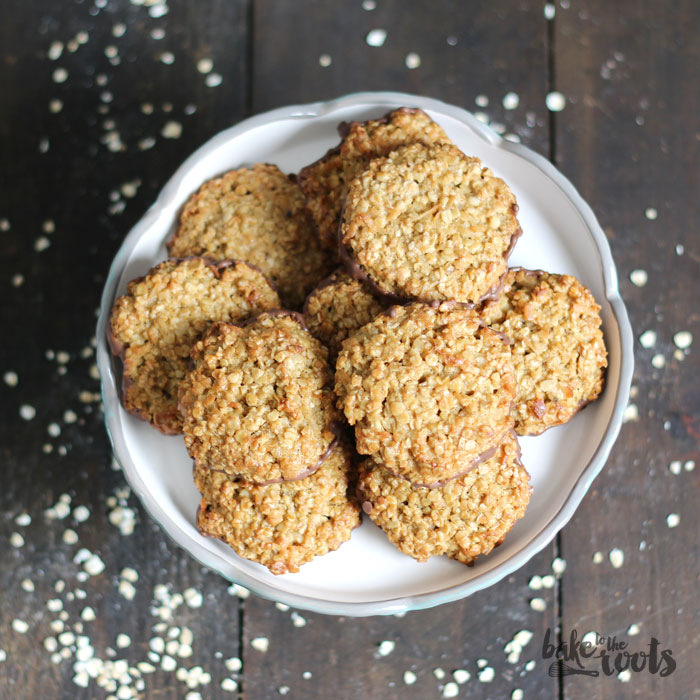 Oatmeal Cookies | Bake to the roots