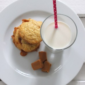 "Banoffee Cookies | Cookie Friday with ""Küchenkränzchen"""