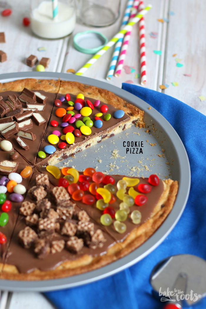 Cookie Pizza (Kuchen) – Bake to the roots