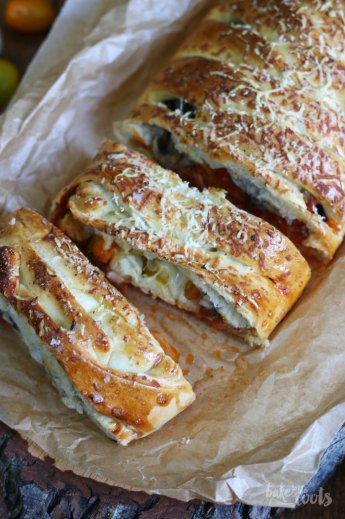 Pepperoni Pizza Bread | Bake to the roots