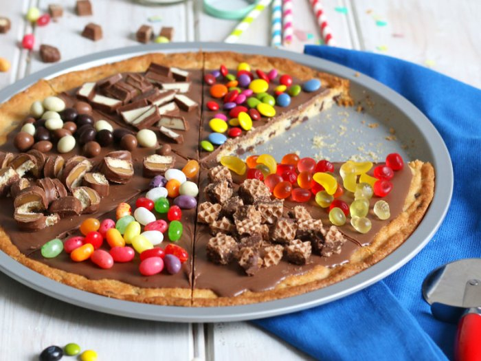Cookie Pizza Kuchen Bake To The Roots