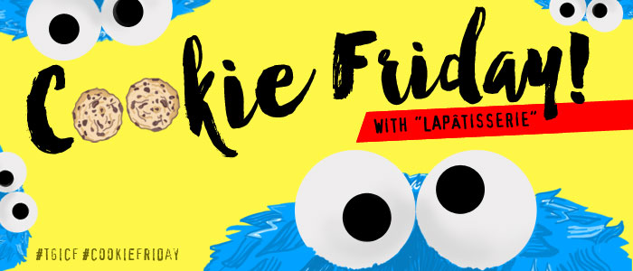 """Cookie Friday with """"LAPÂTISSERIE"""""""