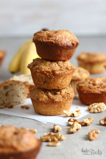 Banana Bread Muffins   Bake to the roots