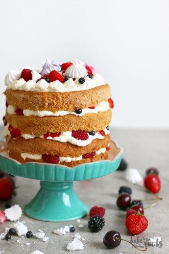 Eton Mess Cake | Bake to the roots
