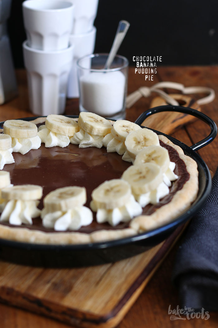 Chocolate Banana Pudding Pie   Bake to the roots