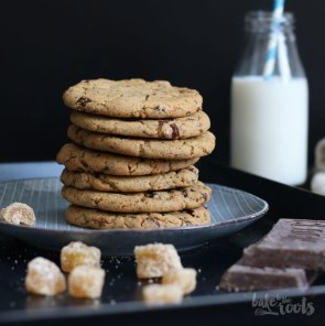 Chocolate Ginger Cookies | Bake to the roots