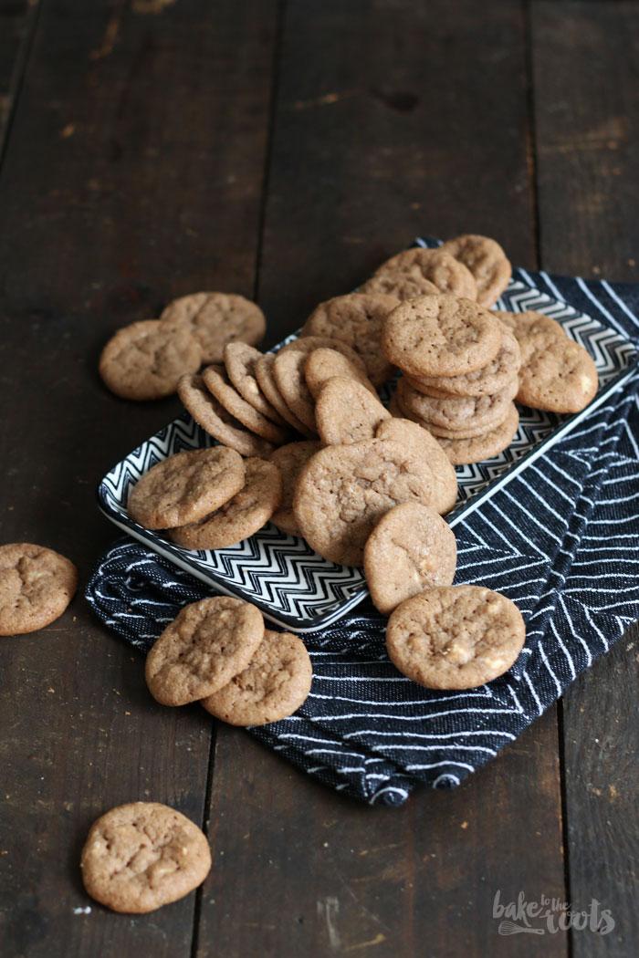 Mini Cookies (Munchkins) mit Nutella und Weißer Schokolade – Bake to ...
