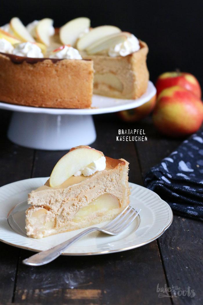 Bratapfel Käsekuchen   Bake to the roots