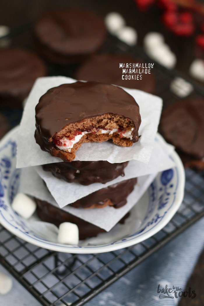 Marshmallow Marmalade Cookies | Bake to the roots