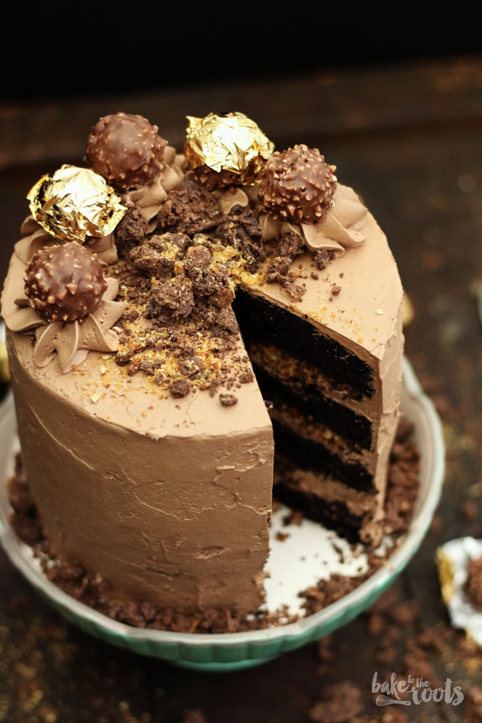 5c7b838d4fa9 Ferrero Rocher Layer Cake – Bake to the roots