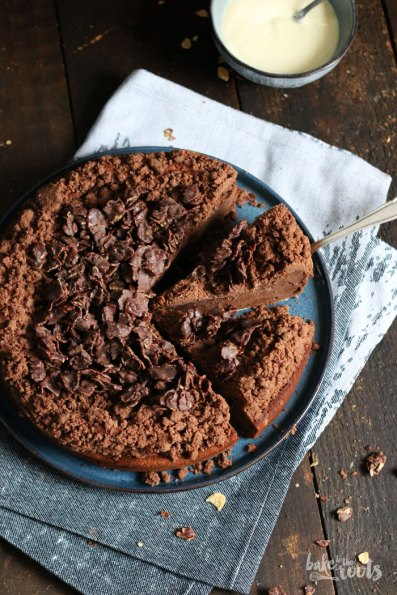 Chocolate Cheesecake with Cornflake Crunch | Bake to the roots