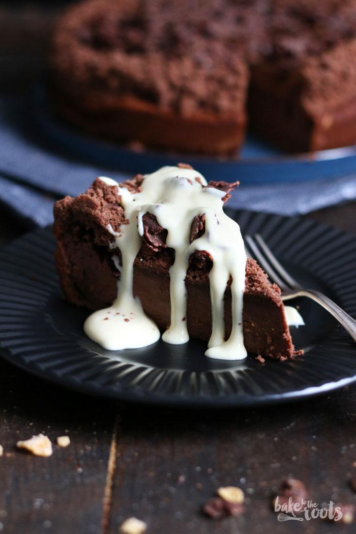 Chocolate Cheesecake Mit Cornflake Crunch Bake To The Roots